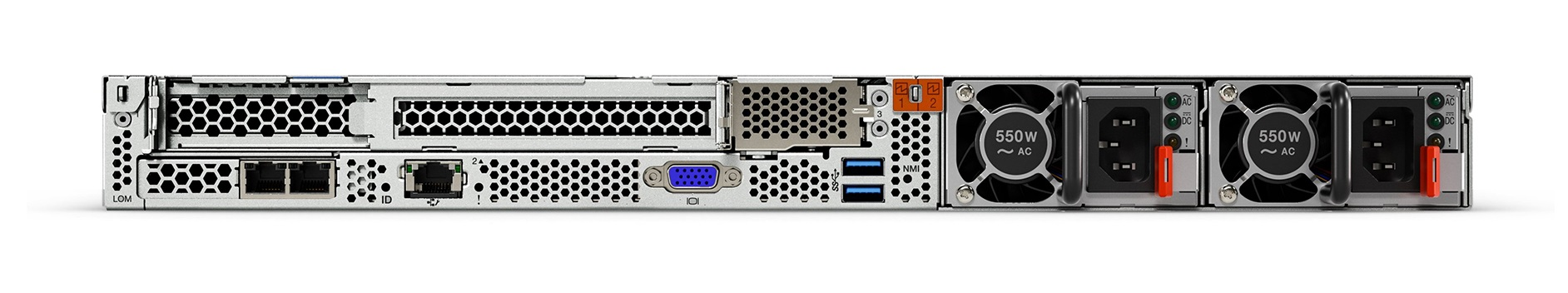 Купить стоечный сервер Lenovo ThinkSystem SR630 (7X02A03VEA